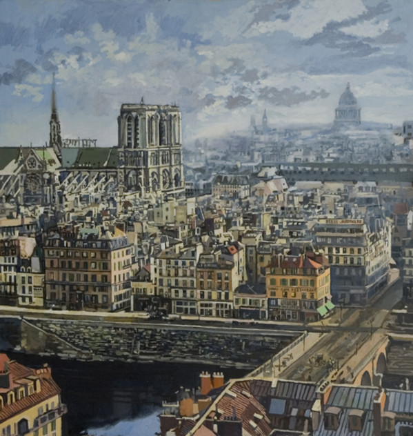 Paris in 1865 by Frank Wright