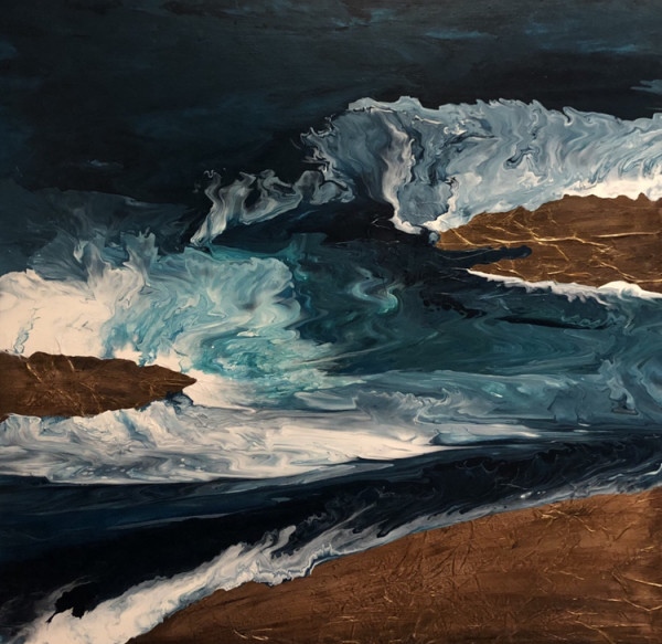 Turbulence by Kathy Elmore