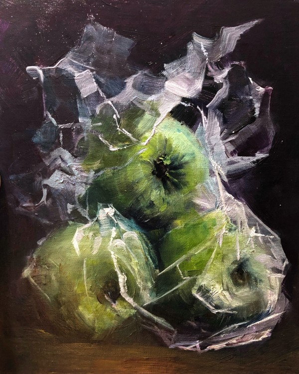 Composition with Granny Smith by Deana Evstefeeva