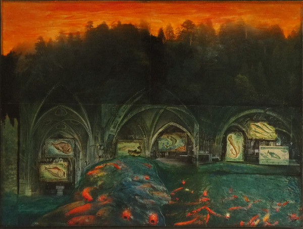 About the Fishes by Lynda Frese