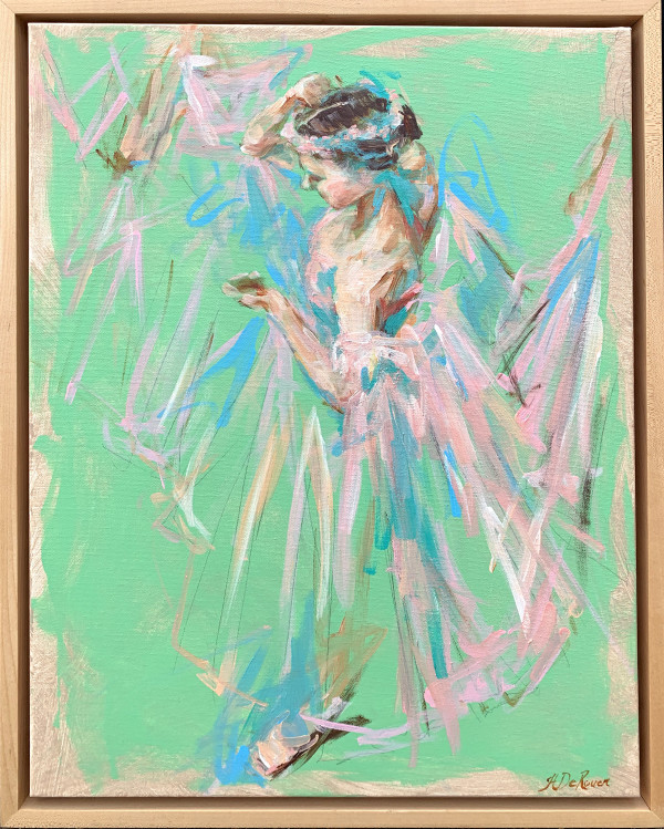 Dancer (Green) by Haidee DeRouen