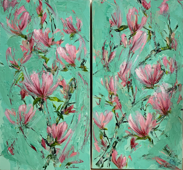 Japanese Magnolia by Haidee DeRouen