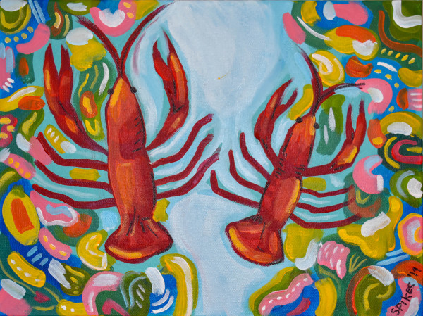 Crazy Crawfish by Emily Spikes