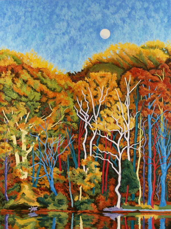November Full Moon by Peggy Walters