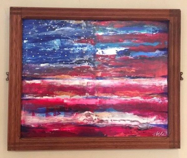American Abstract by Toby Elder