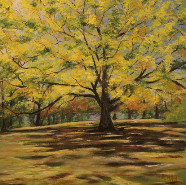Yellow Tree by Anne Matt