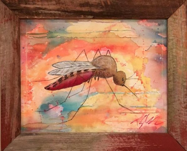 Red Mosquito by Toby Elder
