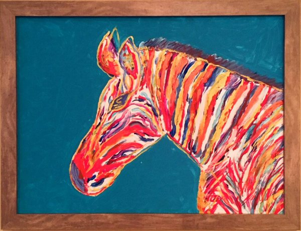 Zebra by Toby Elder