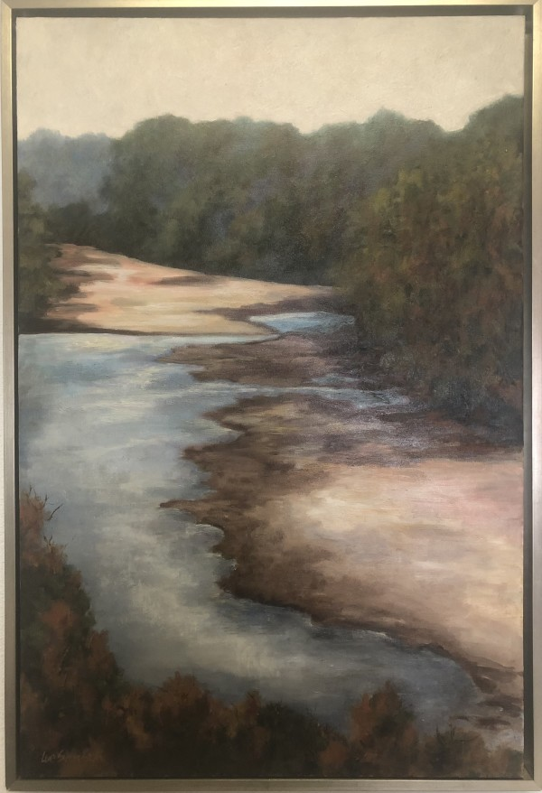 St. Francisville Thompsons Creek from the Bluff by Lue Svendson