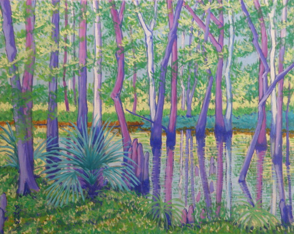 Palmettos, May by Peggy Walters