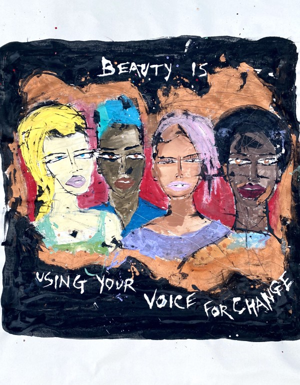Beauty is Using your Voice for Change by Miles Regis