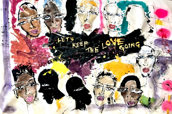 Let's Keep The Love Going by Miles Regis