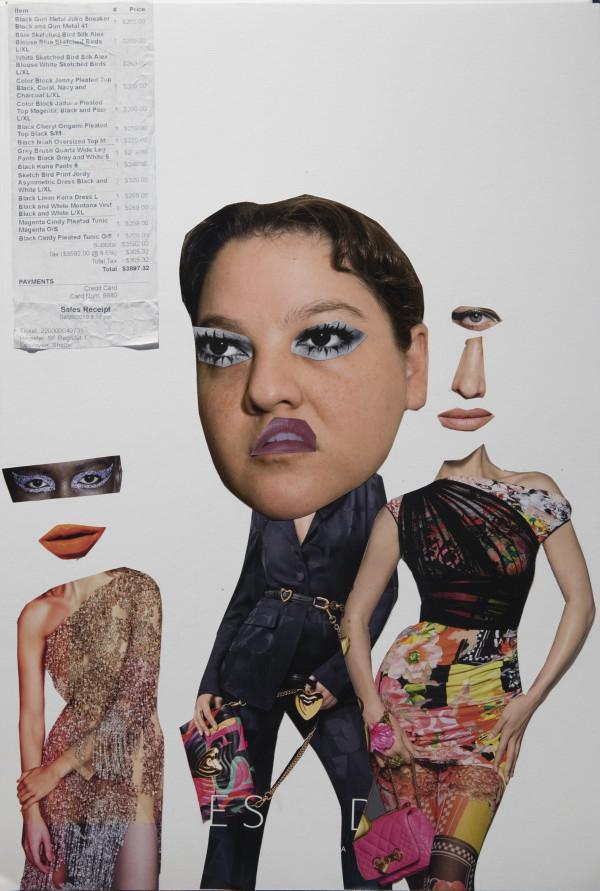 Head Receipt by Cathy Immordino