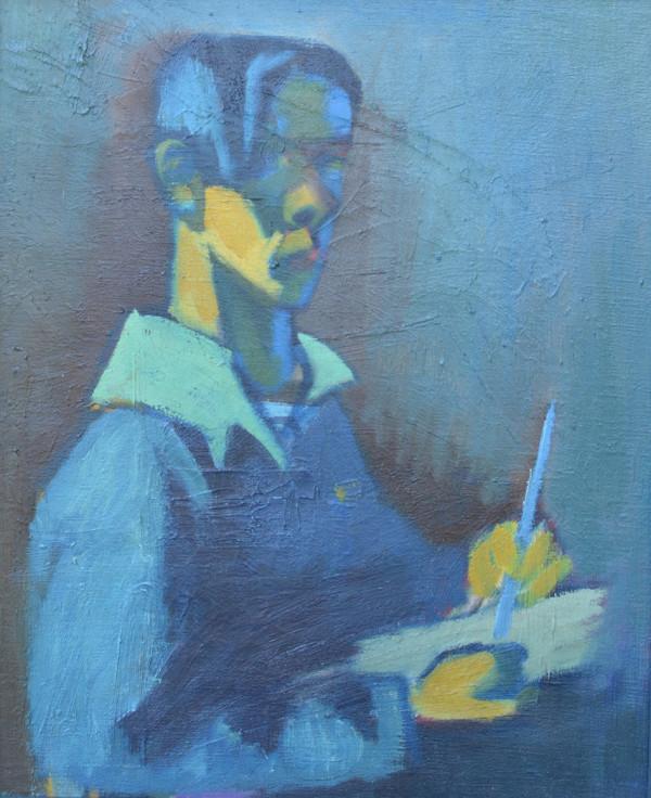 Self Portrait (1944) by Jack McLarty