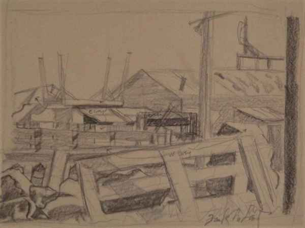 Near the Cannery, Yaquina Bay, Newport by Jack McLarty
