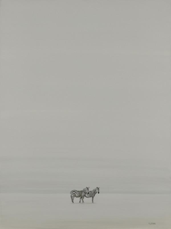 Zebra Pair by F. Lipari