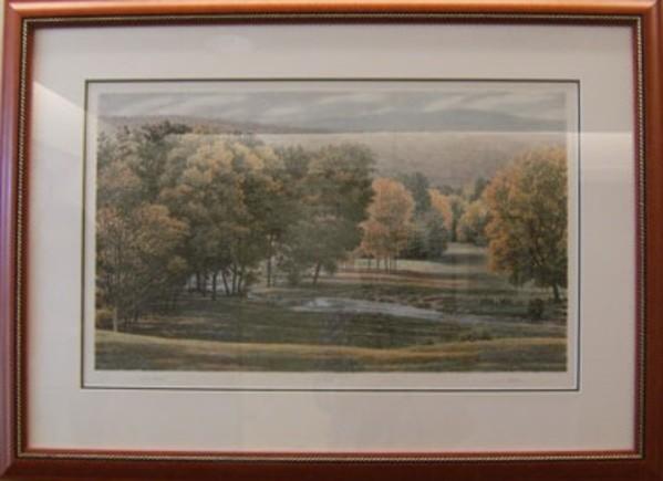 Valley Stream by Carl Hoffner