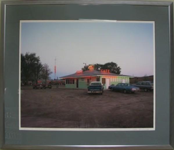 Arrow Café, Thedford, Nebraska 1990 by Alan R. Smith