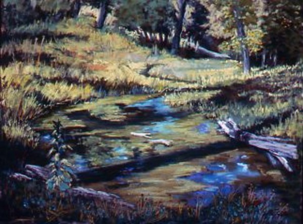 Trout Pond by Mary Louise Tejada-Brown