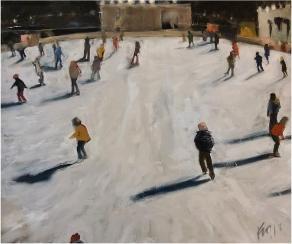 Capitol District, Omaha, NE by Kristine  Hansen-Cain