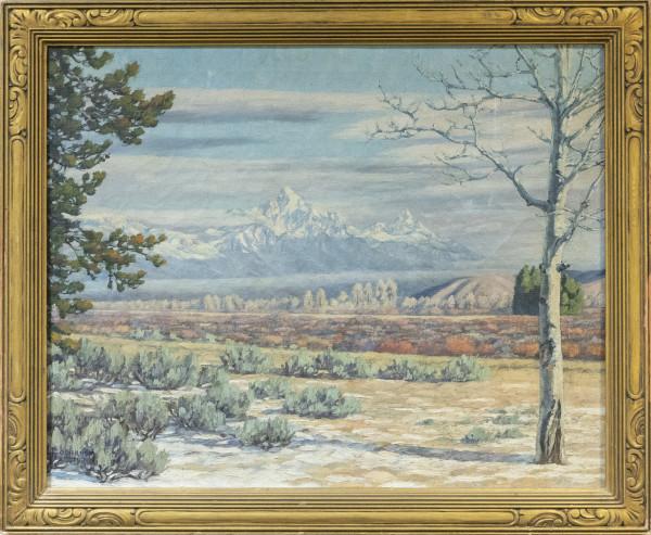 Untitled Landscape by Frank  Colbron