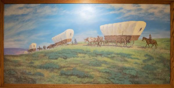 Untitled (Wagon Train) by Nancy Jellico
