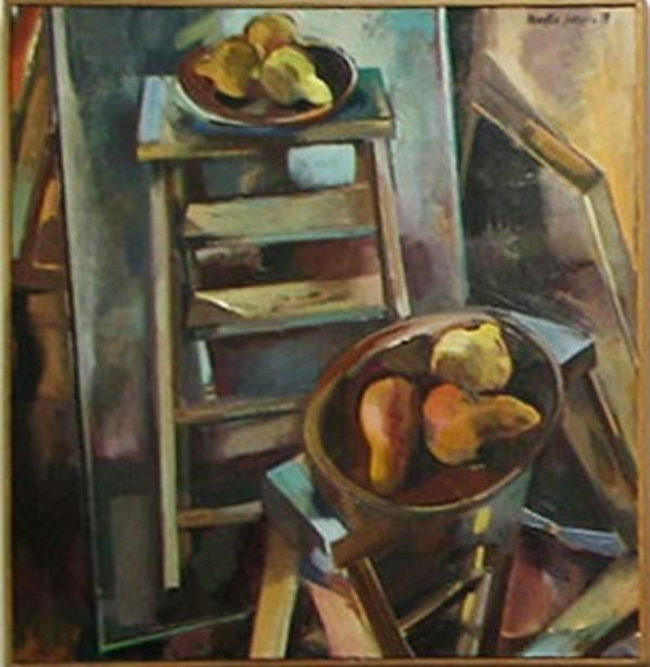 Bosc Pears by Martha Hayden