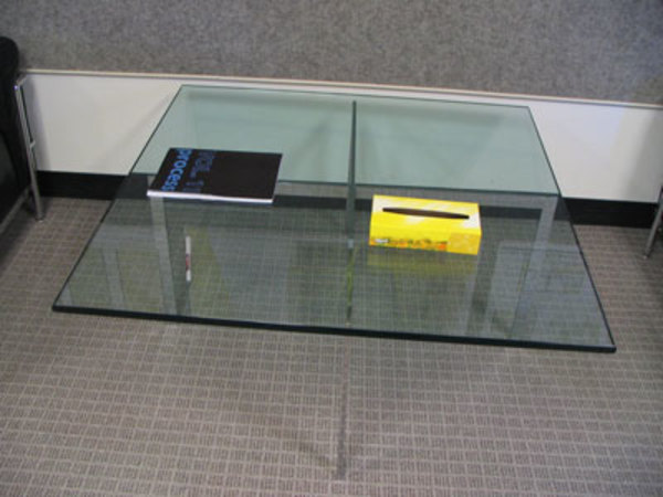 Barcelona Table (1 of 2) by Ludwig Mies van der Rohe
