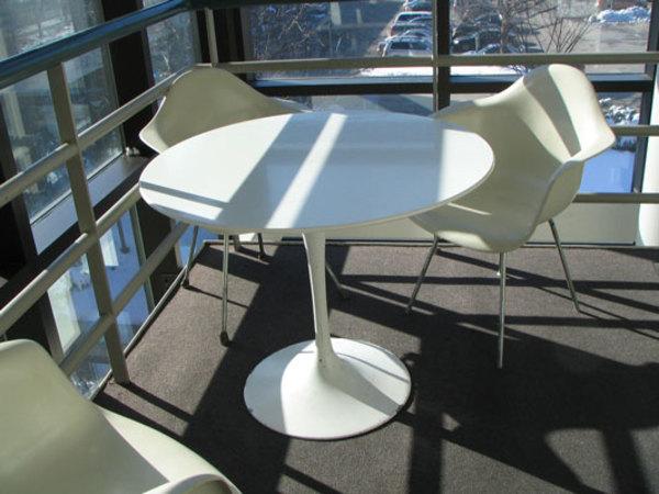"Tulip Pedestal Table (36"" diameter) 1 of 4 by Eero Saarinen"