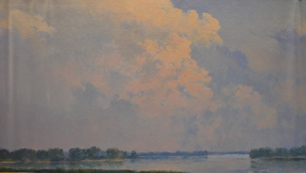 View of the Platte River (Platte River Skyscape) by Harold (Hal) Holoun