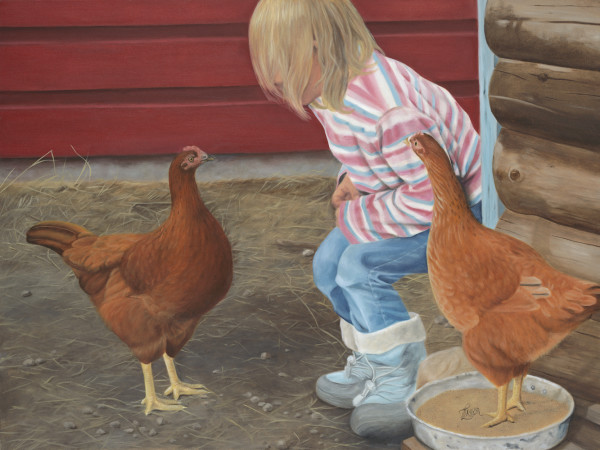 Chicken Talk by Tammy Taylor