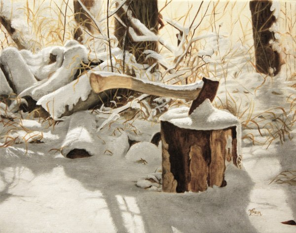 Winter Labour by Tammy Taylor
