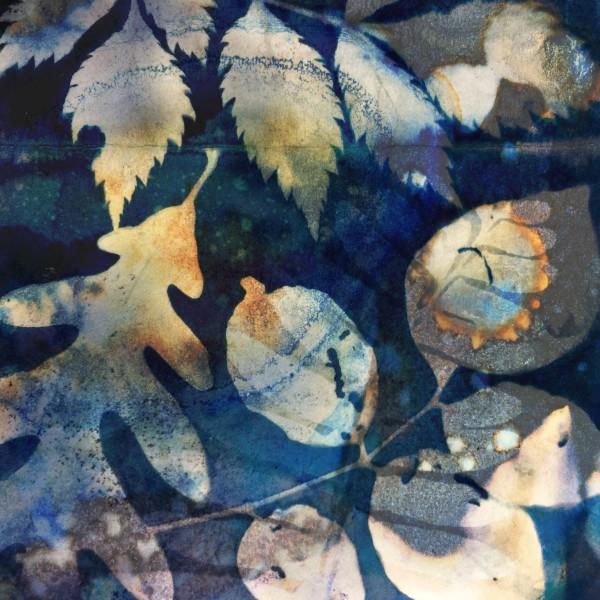 Corona Blue by Lesley Riley