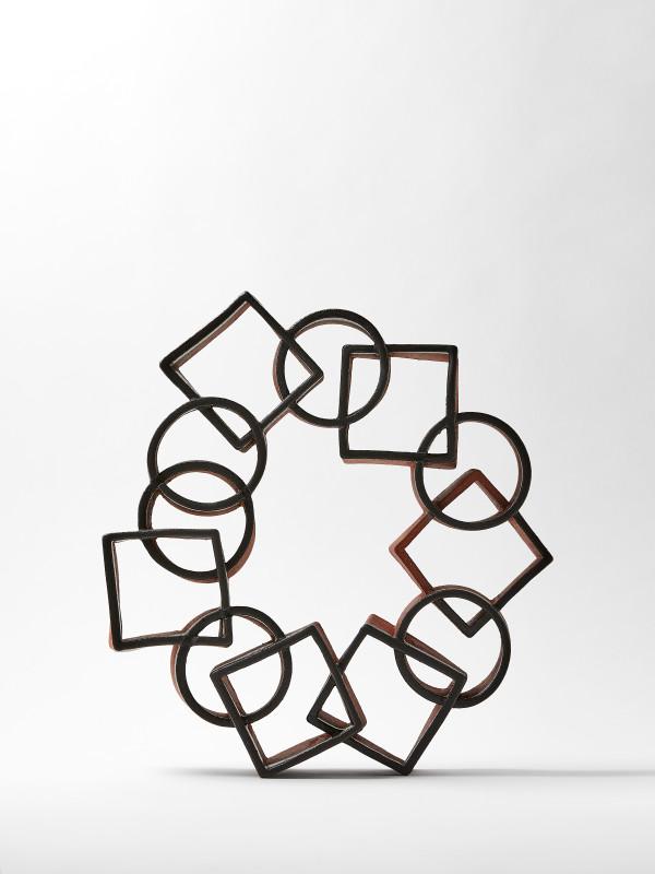 Interlacing Circle and Square Portal by Ben Medansky