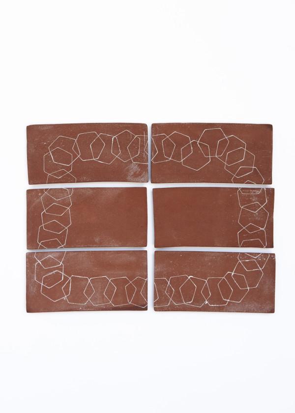 Interlacing Hexagons (Six Panel) by Ben Medansky