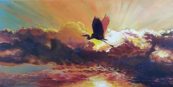 """10th Place – Overall - Merana Cadorette – """"Sunrise Flight"""" - http://www.merana.com/ by Merana Cadorette"""