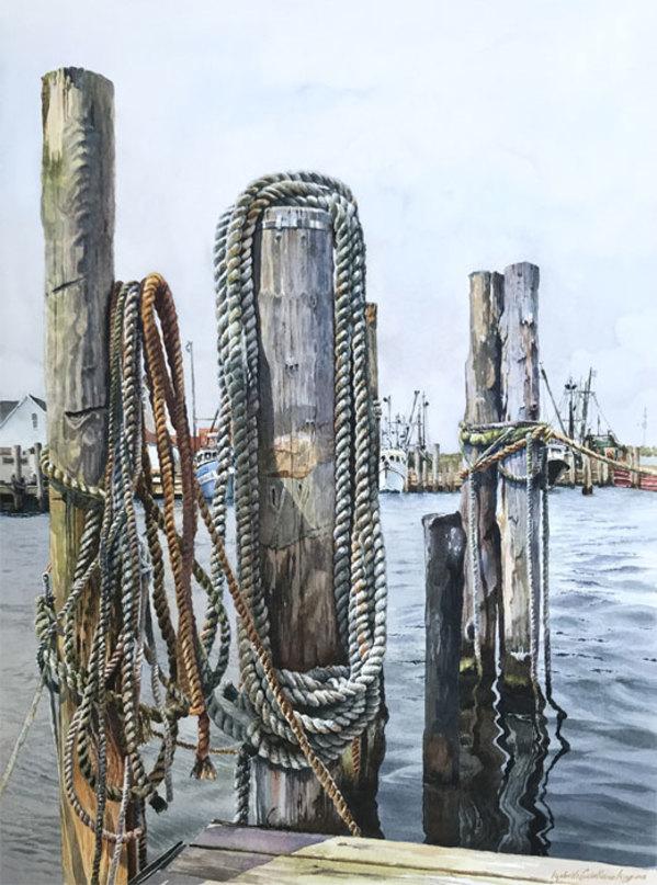 "7th Place – Overall - Lizabeth Castellano-King – ""Montauk Pier II"" - liz.castellano.king1@gmail.com by Lizabeth Castellano-King"