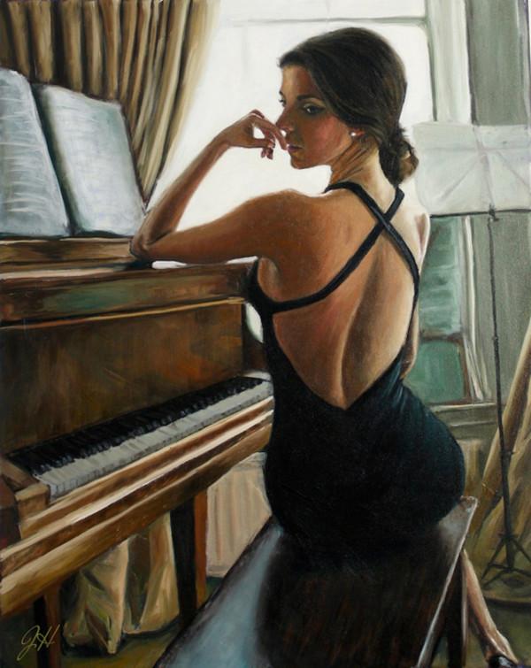 "8th Place – Overall - Johanna Hattner – ""Piano Elegance"" – www.johannahattner.com by Johanna Hattner"
