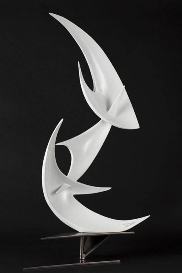 "9th Place – Overall - Diana Fernández - ""Triad"" - www.dianafernandez.art by Diane Fernández"