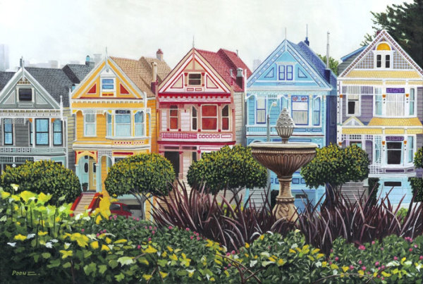 """8th  Place – Tony Podue - """"Painted Ladies"""" – www.poduestudio.com by Tony Podue"""