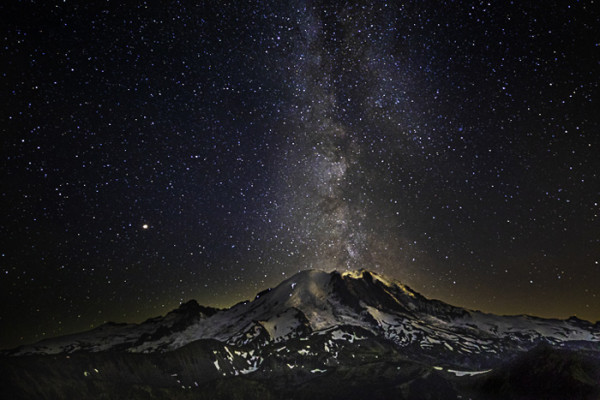 "8th Place – Overall - Michael Schertz - ""Milky Eruption"" – www.dynamicearthphotos.com by Michael Schertz"