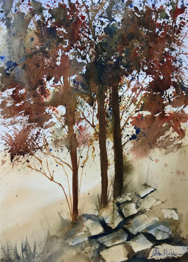 """9th Place – Overall - John Heinemann - """"The Autumn Hillside"""" – www.heinzdesignz.com by John Heinemann"""