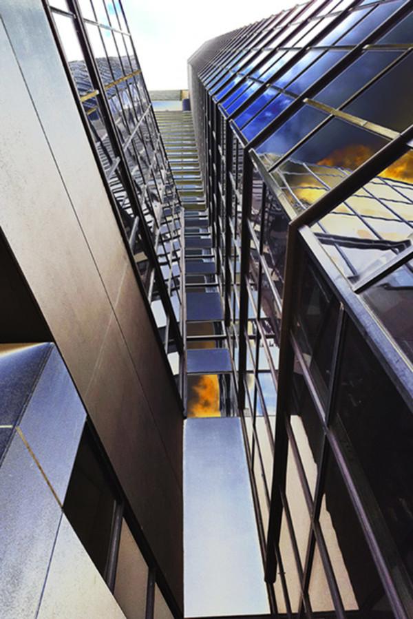 "10th  Place – John Edington - ""Three Degrees of Verticality II"" –   jmedington@comcast.net by John Edington"