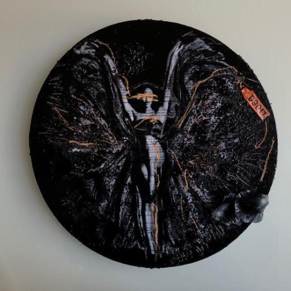 In Fashion Black Circle 2 by Tina Psoinos