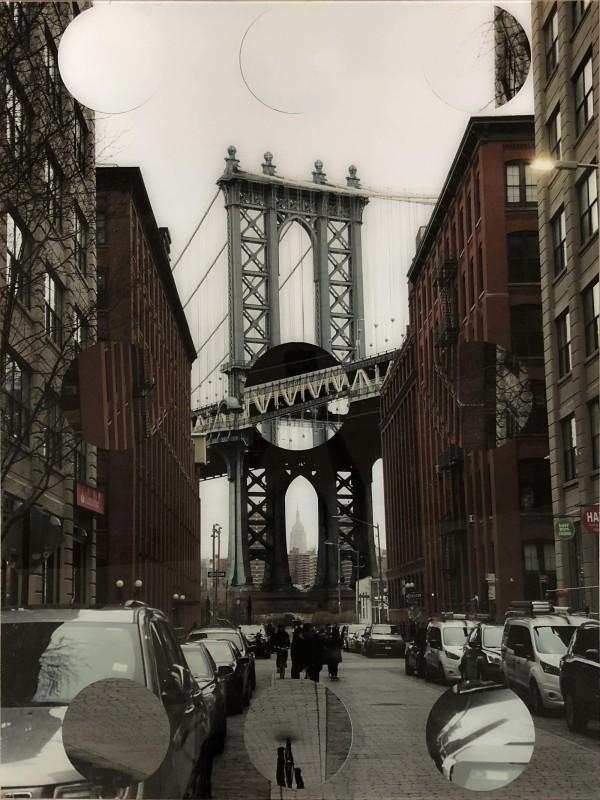 Manhattan Bridge by Tina Psoinos