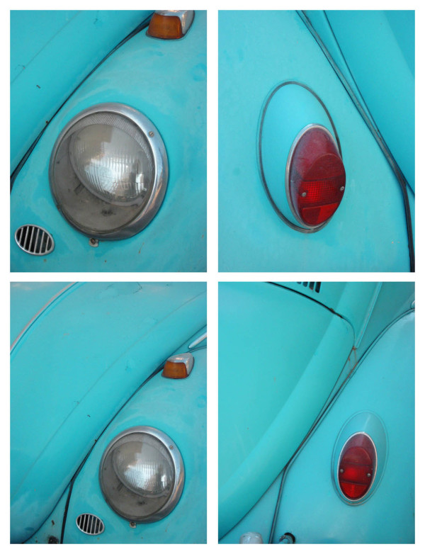 Beetle BlueGreen (Volkswagen) - Limited Edition 1 of 6 by Tina Psoinos