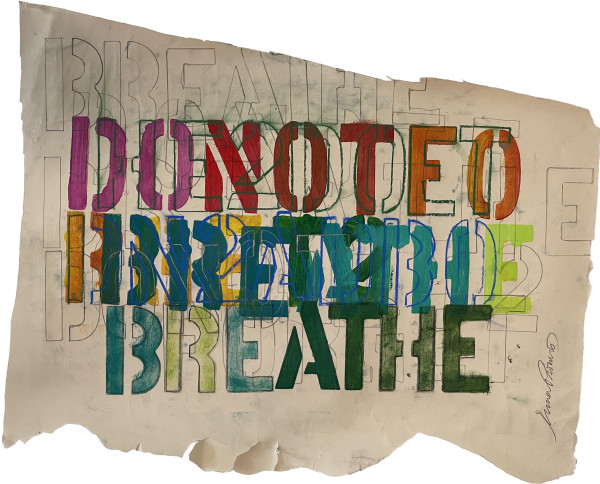 Typography_Breathe by Tina Psoinos
