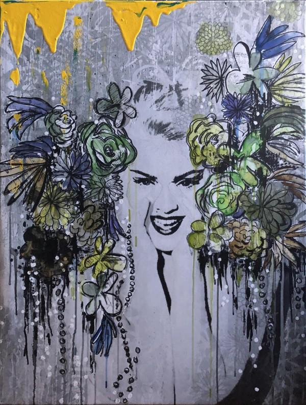 Madonna Yellow by Tina Psoinos
