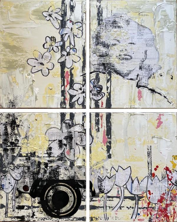 Marilyn Yellow A1B by Tina Psoinos