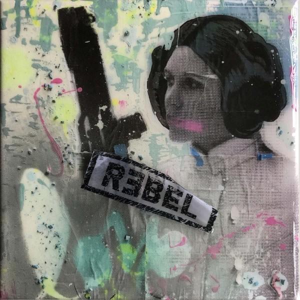 Princess Leia Rebel by Tina Psoinos